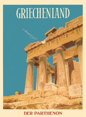 Griechenland (Greece) - Parthenon - Temple of Athena by Dick Negus & Philip Sharland