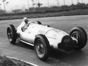 Dick Seaman's Mercedes, Donington Grand Prix, 1938