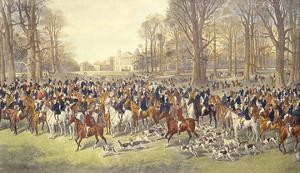 A Lawn Meet at Badminton by Dickinson Brothers & Foster