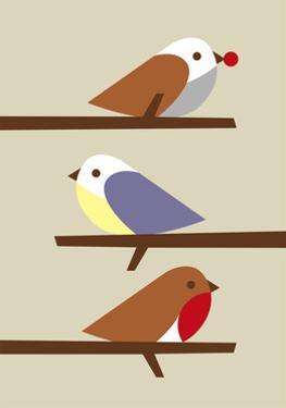 3 Birds by Dicky Bird