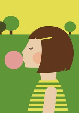 Bubblegum Girl by Dicky Bird