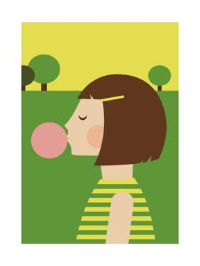 Bubblegum Girl by Dicky Bird