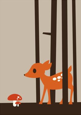 Little Deer by Dicky Bird