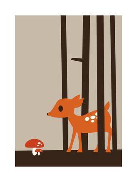 Little Deer by Dicky Bird