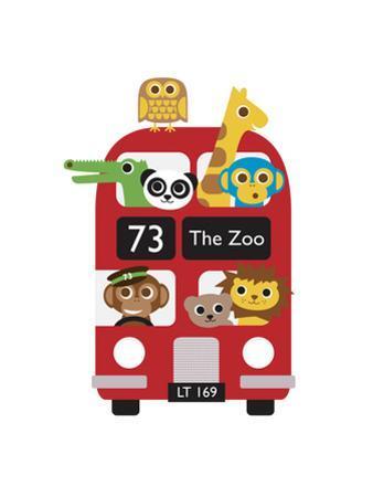 London Bus Zoo by Dicky Bird