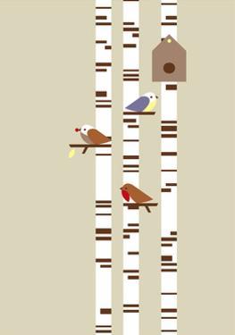 Silver Birch by Dicky Bird