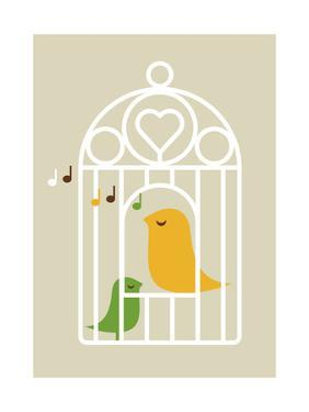 Singing Birds 2 by Dicky Bird