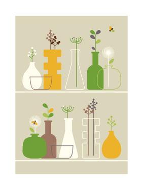 Vases by Dicky Bird