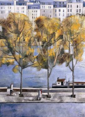 Autumn in Paris by Didier Lourenco