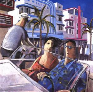 Cruising in Miami by Didier Lourenco