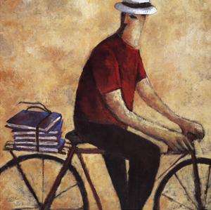 El Hombre De La Bicicleta by Didier Lourenco