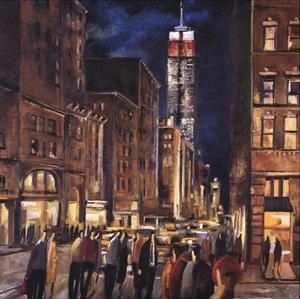 New York Night by Didier Lourenco
