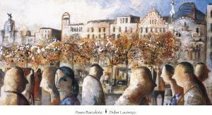 Paseo Barcelona by Didier Lourenco