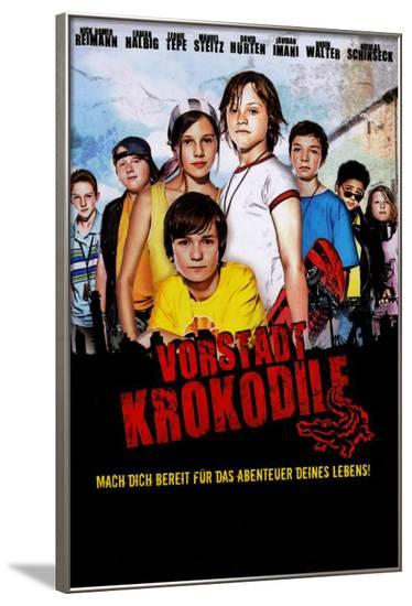 Die Vorstadtkrokodile (TV) - German Style--Framed Poster