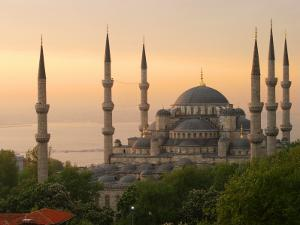 Sultan Ahmet (Blue Mosque) at Dawn, Historic Centre of Istanbul by Diego Lezama