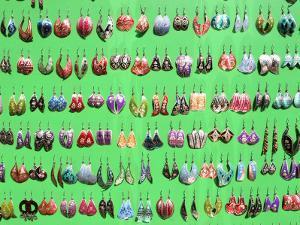 Traditional Earrings, Eminonu Street Vendor by Diego Lezama