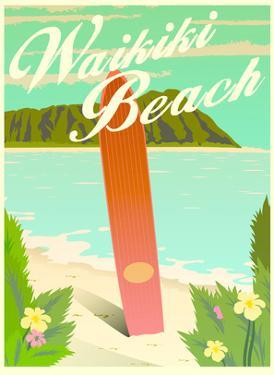 Waikiki by Diego Patino