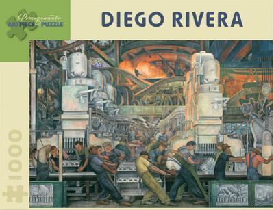 Diego Rivera 1000 Piece Puzzle