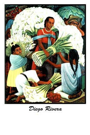 Diego Rivera (Vendedores de Flores)