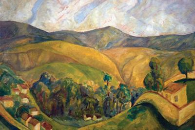 English Landscape by Diego Rivera