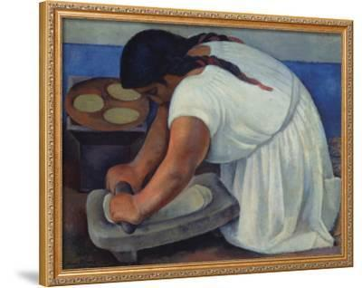 The Grinder, c.1926 by Diego Rivera