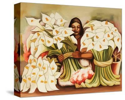 Vendedora Alcatraces by Diego Rivera