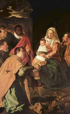 Diego Velázquez (Adoration of the Magi (Epiphany)) Art Poster Print