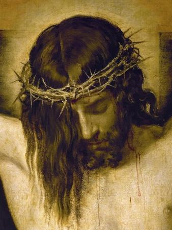 Crucified Christ (Detail of the Head), Cristo Crucificado