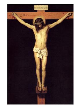 Crucified Christ by Diego Velazquez