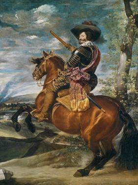 Equestrian Portrait of Don Gaspar De Guzman (1587-1645) Count-Duke of Olivares, 1634 by Diego Velazquez