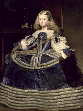 Infanta Margarita (1651-73) in Blue, 1659 by Diego Velazquez