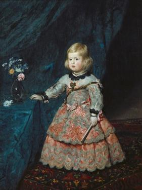 Infanta Margarita Teresa in a Pink Gown by Diego Velazquez