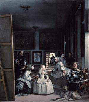 Las Meninas' or 'The Family of Philip Iv, 1656-1657 by Diego Velazquez