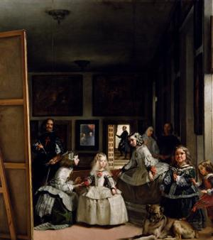 Las Meninas or the Family of Philip IV, circa 1656 by Diego Velazquez