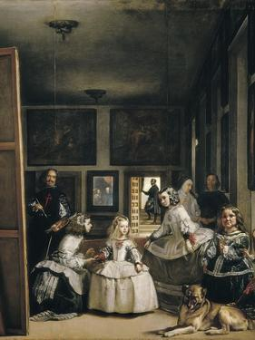 Las Meninas (The Maids of Honour or the Family of Philip IV) by Diego Velazquez