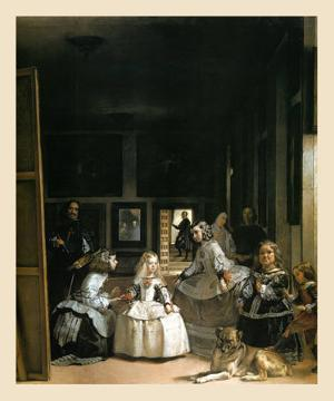 Les Menimes, 1656 by Diego Velazquez