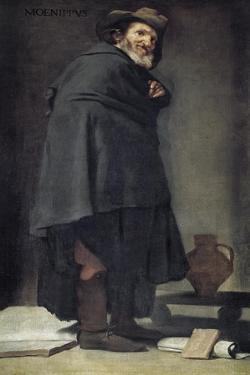 Menippus by Diego Velazquez