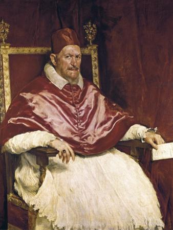 Pope Innocent X by Diego Velazquez