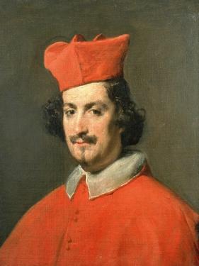 Portrait of Cardinal Camillo Astali Pamphili, 1650 by Diego Velazquez