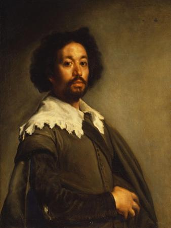 Portrait of Juan De Pareja by Diego Velazquez