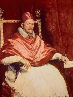 Portrait of Pope Innocent X (1574-1655), 1650 by Diego Velazquez