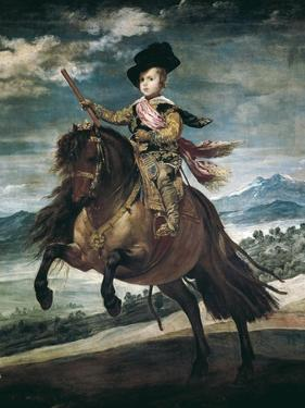 Prince Balthasar Carlos on Horseback by Diego Velazquez