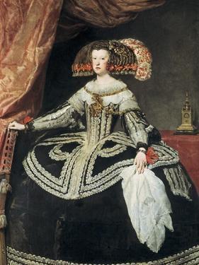 Queen Mariana of Austria by Diego Velazquez