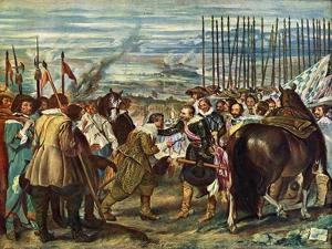 Surrender of Breda (Las Lanza), 1634-1635 by Diego Velazquez