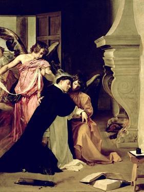Temptation of St.Thomas Aquinas by Diego Velazquez