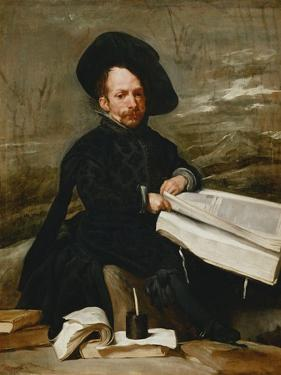 The Buffoon Diego De Acedo, the Cousin, Ca. 1644 by Diego Velazquez