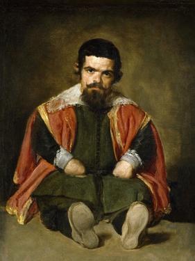 The Buffoon Sebastian De Morra, 1643-1649 by Diego Velazquez