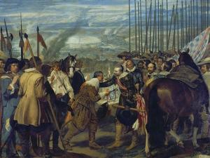 The Capitulation of Breda, 1634/1635 by Diego Velazquez