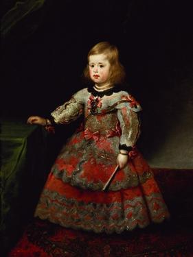 The Infanta Maria Margarita (1651-73) of Austria as a Child by Diego Velazquez
