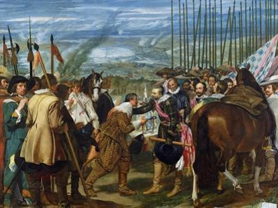 The Surrender of Breda, 1625, circa 1635 by Diego Velazquez